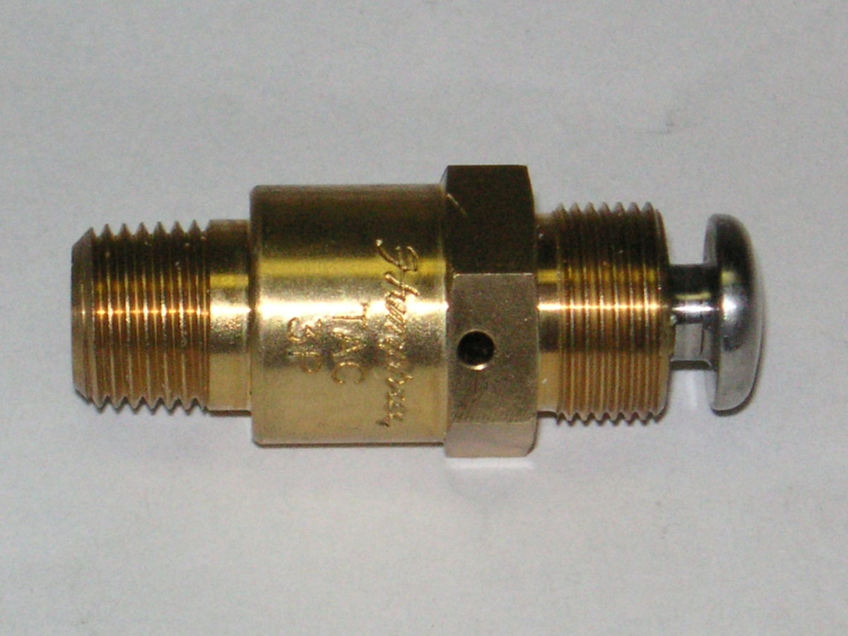 Humphrey 2 Way Push Button Tac Valve Air Inc