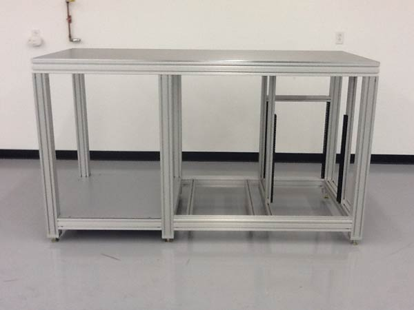Aluminum Extrusion Station