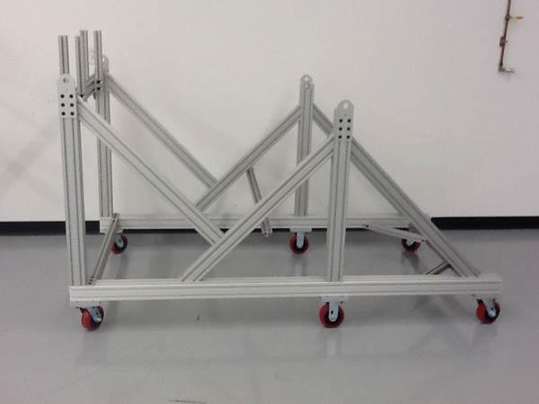 Aluminum Extrusion Cart Stand