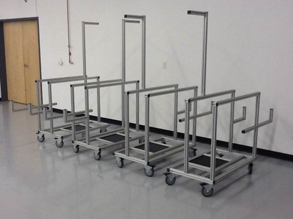 Aluminum Extrusion Stands
