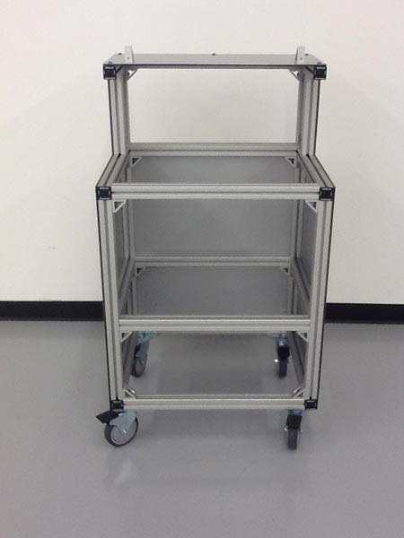 Aluminum Extrusion Cart
