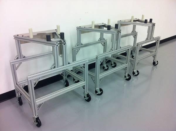 Aluminum Extrusion Carts