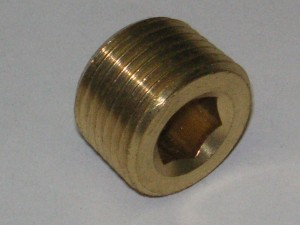 Plug-Countersunk Fitting 109U
