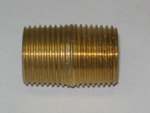 Brass Close Nipple Fitting 112
