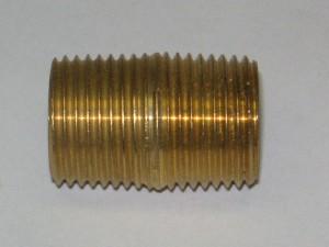 Brass Close Nipple Fitting 1123