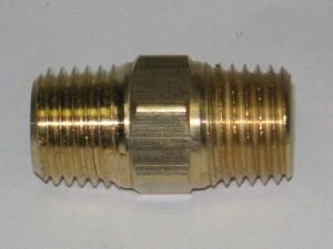 Brass Hex Nipple Fitting112X