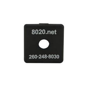 Black 80/20 End Cap 2015