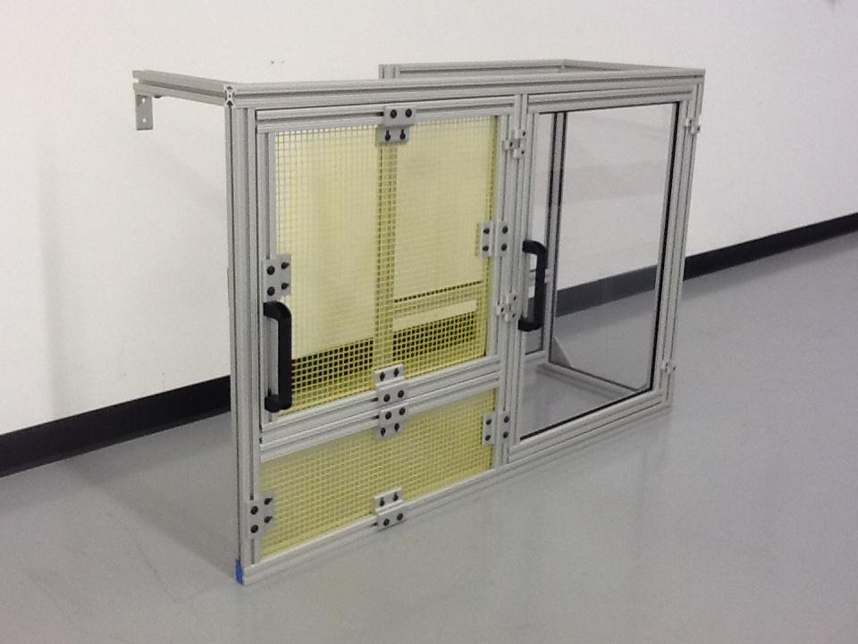 Aluminum Extrusion Guarding