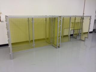 Aluminum Framed Table
