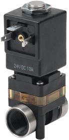 2-Position media separated solenoid