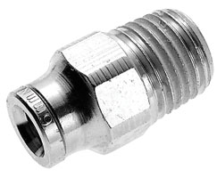Norgren 3/8-1/4 Straight Male Adapter - 12-425-0628