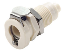 "PMC Series 1/8"" Panel Mount Coupling Body"
