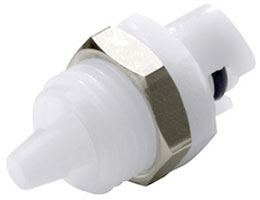 "SMC Series 1/8"" Panel Mount Coupling Insert"