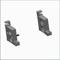 Humphrey Stackable Valve End Plate Kit - 7-900A